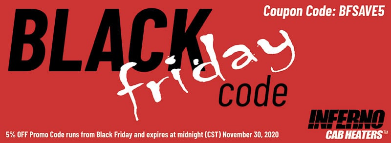 Black Friday 5% Off Entire Order